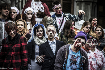 Halloween Zombie Walk - Image Credit: https://www.flickr.com/photos/madely87/10123045874