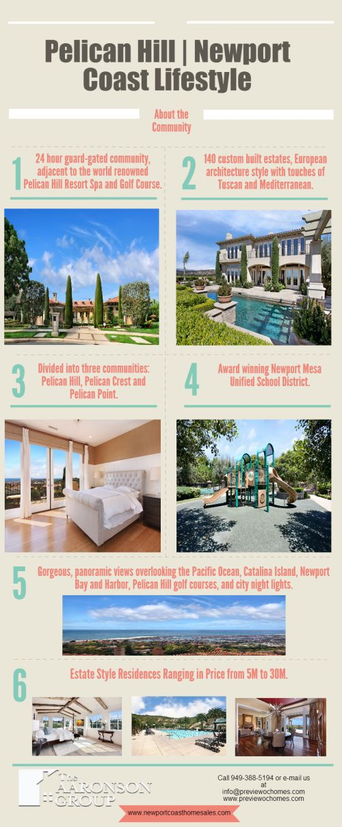 The Pelican Hill Lifestyle [Infographic]
